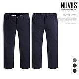 [뉴비스] NUVIIS - 베이직 밴딩 8부 슬랙스 (AD055LPN)