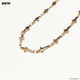 SEXTO - [써지컬스틸]F-TYPE-001 ROSE GOLD