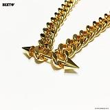 SEXTO - [써지컬스틸]H-04 necklace GOLD