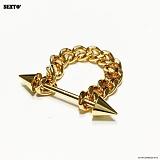 SEXTO - [써지컬스틸][반지]H-00 RING GOLD