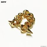SEXTO - [써지컬스틸][반지]H-04 RING GOLD