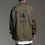[하운드빌]HOUNDVILLE - SURVIVE coach jacket khaki 코치자켓