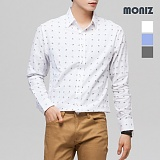 [모니즈] 큐브 나염셔츠 SHT517