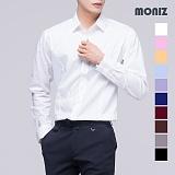 [모니즈] 10컬러 스판 솔리드 셔츠 SHT503