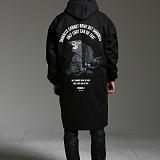 [하운드빌]HOUNDVILLE - OVERFIT coach jacket black 코치자켓