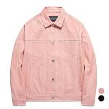 [품절임박특가]밴웍스 10s 트윌 트러커 재킷 (VNAGJK003) 트러커 자켓