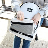 [컨스파라]CONSPARA - MESH POUCH BACKPACK (4 COLOR) 메쉬 백팩