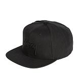 [스투시]STUSSY - STOCK HO16 CAP 131650 (BLACK) 로고 스냅백