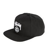 [스투시]STUSSY - STOCK LOCK HO16 CAP 131651 (BLACK) 로고 스냅백