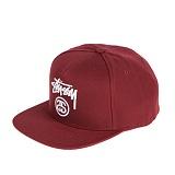 [스투시]STUSSY - STOCK LOCK HO16 CAP 131651 (CARDINAL) 로고 스냅백
