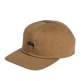 [스투시]STUSSY - STOCK LOW CAP 131668 (LIGHT BROWN) 로고 볼캡 야구모자
