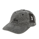 [스투시]STUSSY - SMOOTH STOCK ENZYME CAP 131561 (BLACK) 로고 볼캡 야구모자