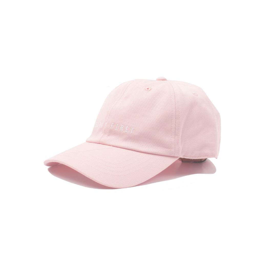 [티엔피]TNP SAFETY FIRST BALL CAP - PINK 볼캡 야구모자