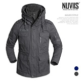 [뉴비스] NUVIIS - 테잎장식 점퍼 (WS048JP)