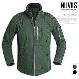 [뉴비스] NUVIIS - 이중 하이넥 숏 점퍼 (WS047JP)
