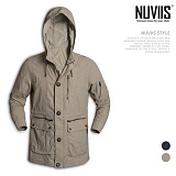 [뉴비스] NUVIIS - 지퍼장식 롱 자켓 (WS054JK)