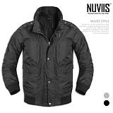 [뉴비스] NUVIIS - 패치포켓 하이넥 점퍼 (WS046JP)