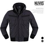 [뉴비스] NUVIIS - 앞면 테잎장식 하이넥 점퍼 (WS045JP)