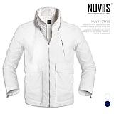 [뉴비스] NUVIIS - 빅포켓 장식 하이넥 점퍼 (WS043JP)