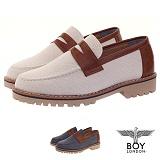 [보이런던] boylondon 남성 캐주얼 패니 댄디 로퍼(베이지) 623-바이칼 남자 구두 단화 신발