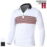 [해리슨] HARRISION LS3007 프리미엄 레인보우 배색 카라티 TO1024