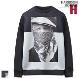 [해리슨] HARRISION NB 하프 피카소 맨투맨 GM1009
