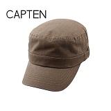 CAP10 - 옆벨트 슬라브 워싱 군모 KHAKI(KH57)