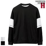 [해리슨] HARRSION 디테일 절개 나염 맨투맨 CS1279