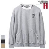 [해리슨] HARRSION DEEP 자수 포켓 맨투맨 CS1281