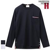 [해리슨] HARRSION 탐 포켓 라운드 긴팔티 MD1188