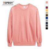 [탑보이] TOPBOY - 데일리 무지 맨투맨 티셔츠 (SE005)