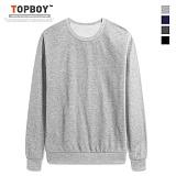 탑보이 - 베이직 라운드 맨투맨 티셔츠 (ZA103)