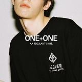[어커버]ACOVER - 1+1 AA REGULAR T-SHIRT 반팔 반팔티 티셔츠