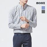 [모니즈] 스트라이프 마 롤업 셔츠 SHT532