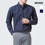 [모니즈] 마 롤업 솔리드 셔츠 SHT527