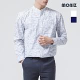 [모니즈] 스크래치 헨리넥 셔츠 SHT526