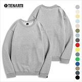 [테너티] 남녀공용 3단쭈리 맨투맨 (T057) 티셔츠