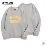 [테너티] 남녀공용 노크 맨투맨 (T017)
