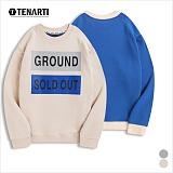 [테너티] 남녀공용 그라운드 맨투맨 (T004)