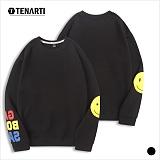 [테너티] 남녀공용 스마일 맨투맨 (T001)