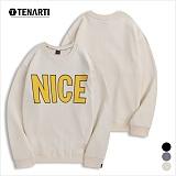 [테너티] 남녀공용 NICE 맨투맨 (T020)