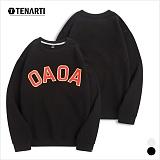 [테너티] 남녀공용 OAOA 맨투맨 (T016)