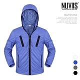 [뉴비스] NUVIIS - 포켓배색 후드 점퍼 (WS057JP)