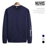 [뉴비스] NUVIIS - 네오프렌 낫띵 맨투맨티셔츠 (PR023MT)