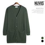 [뉴비스] NUVIIS - 심플 엠보롱 가디건 (LS023CD)