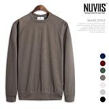 [뉴비스] NUVIIS - 분또 나그랑 베이직 맨투맨 티셔츠 (LS024MT)