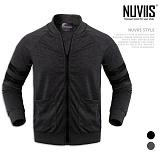 [뉴비스] NUVIIS - 소매자수 집업 블루종 (DB028JP)