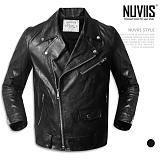 [뉴비스] NUVIIS - 심플 지퍼 라이더 자켓 (HD025JK)