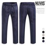 [뉴비스] NUVIIS - 캐주얼 밴딩 슬랙스 (AD056LPN)