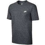 [나이키]NIKE NSW 클럽 엠브로이드 반팔 티셔츠 827021-071 챠콜 _정품 국내배송